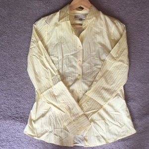 Banana Republic size 8 button down shirt